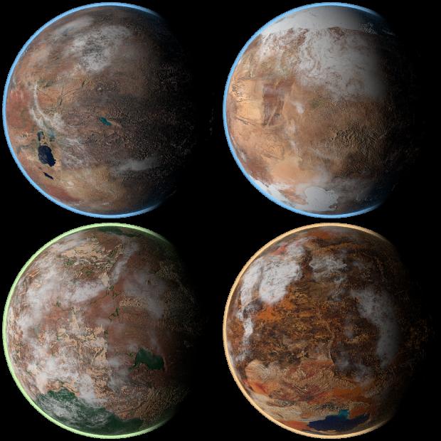Desert Planet Pack 01
