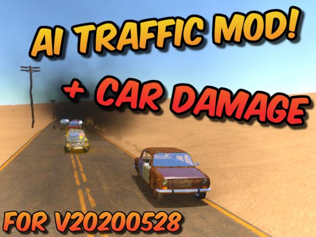 AI Traffic (& Car Damage) Mod v18