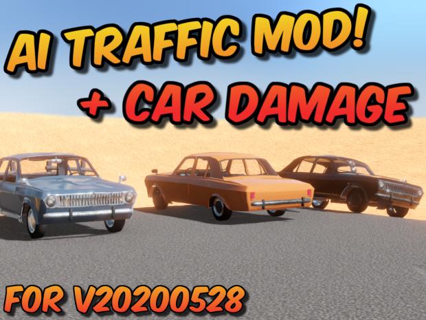AI Traffic (& Car Damage) Mod v24