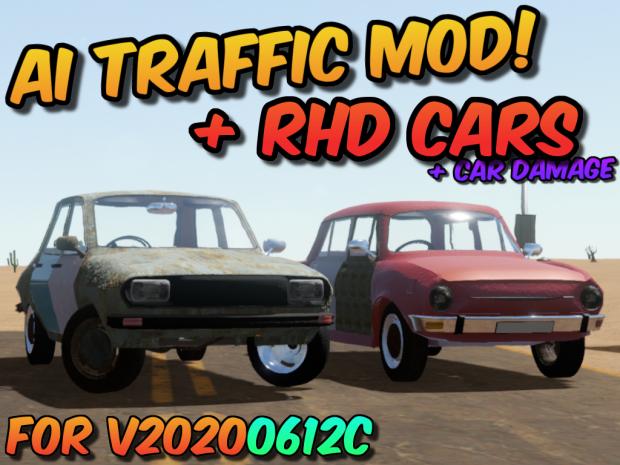 AI Traffic (& RHD Cars) Mod v32