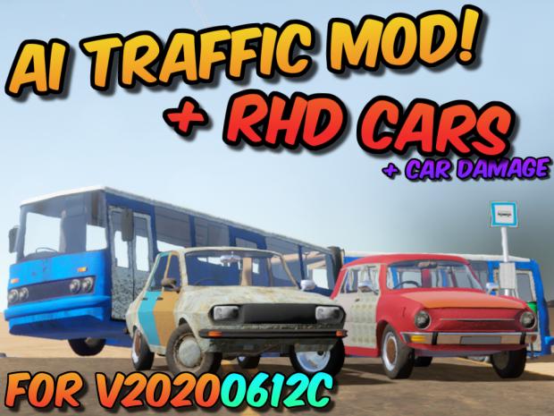 AI Traffic (& RHD Cars) Mod v42