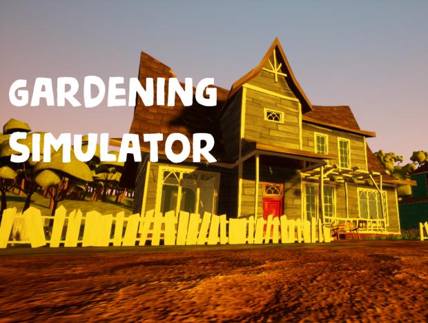 Gardening Simulator - Proof of concept demo