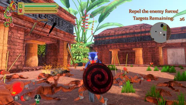 Buluk Mayan Warfare Combat Demo