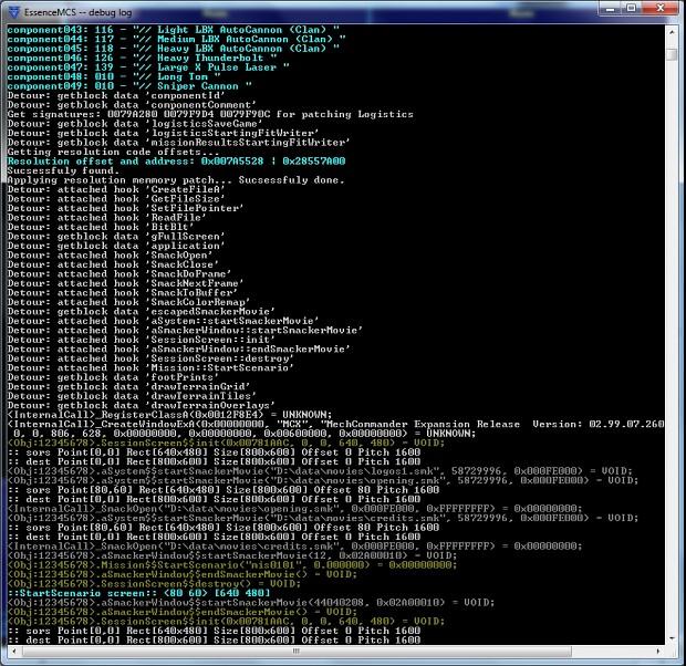 MechCommander Shell & MC Shape Editor