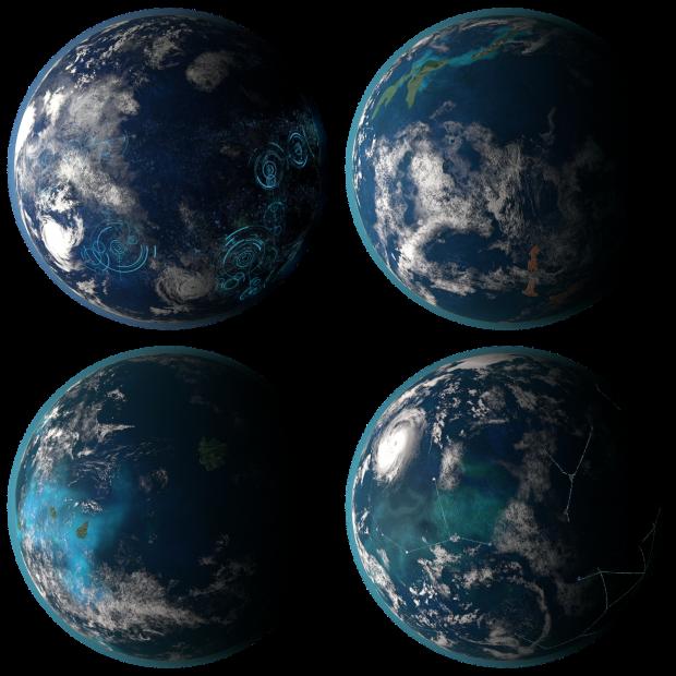 Oceanic Planet Pack 01