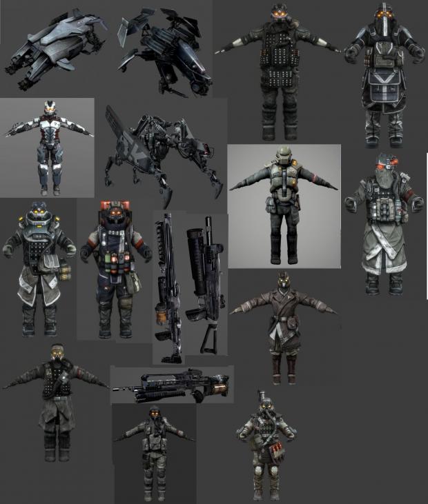 (FULL) Killzone 2 & 3 Models Part 2