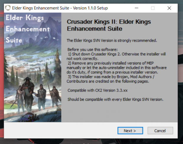 Elder Kings Enhancement Suite - Version 1.1.0