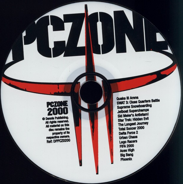 PC Zone Issue #86 CD-Rom