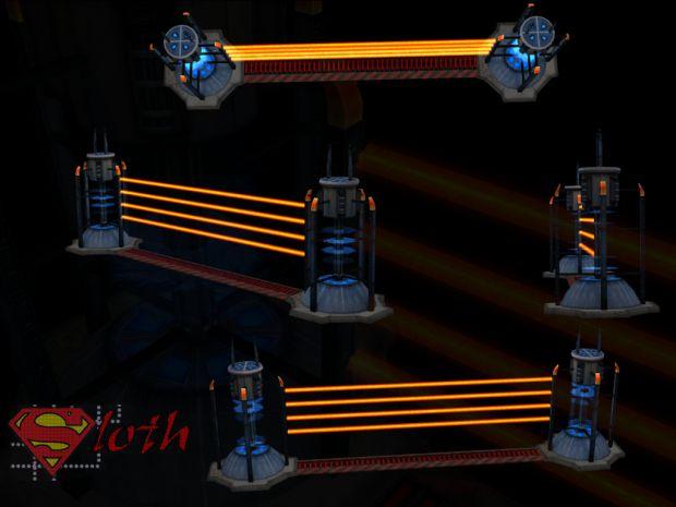 Nod Laser Fence Animation