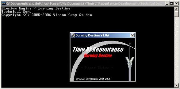 Elysium Engine / Burning Destine Technical Demo 12.04.06