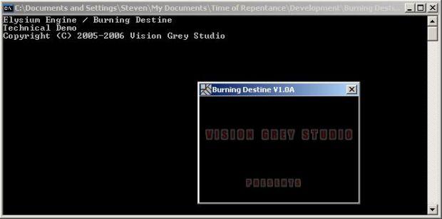 Elysium Engine / Burning Destine Technical Demo 16.04.06