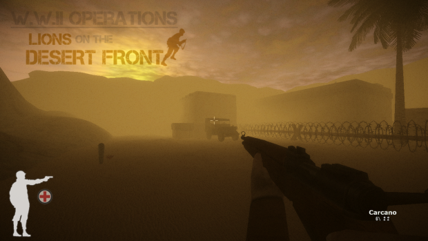 Lions on The Desert Front Demo