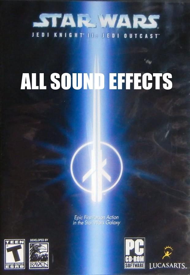Star Wars Jedi Outcast - All Sound Effects