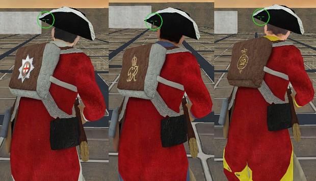 british infantry fix
