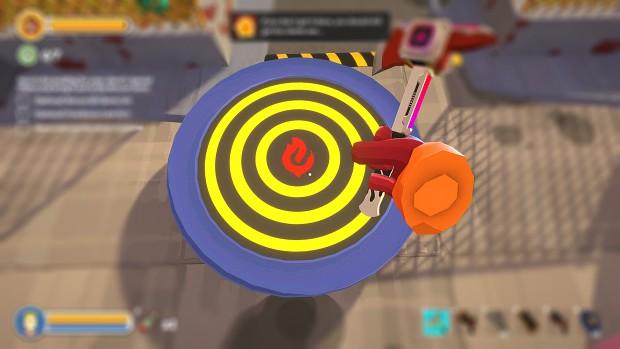 Bullseye Trampoline