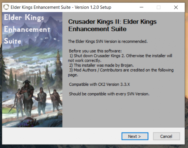 Elder Kings Enhancement Suite - Version 1.2.0