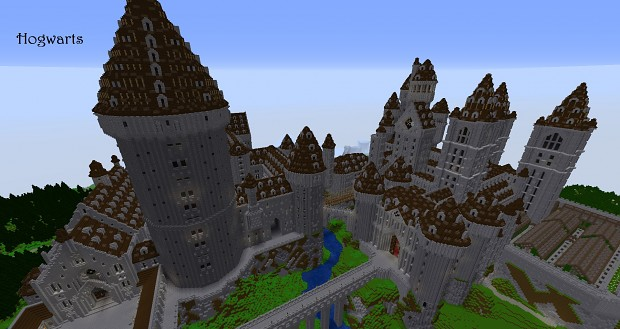 Hogwarts castle - A Map for Minecraft