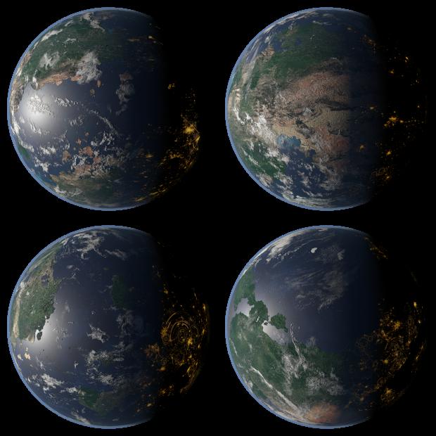 Terran Planet Pack 02