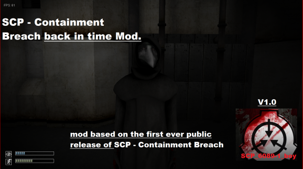 SCP - Containment Breach Back in Time Mod (SCP:CB | pre-installed)