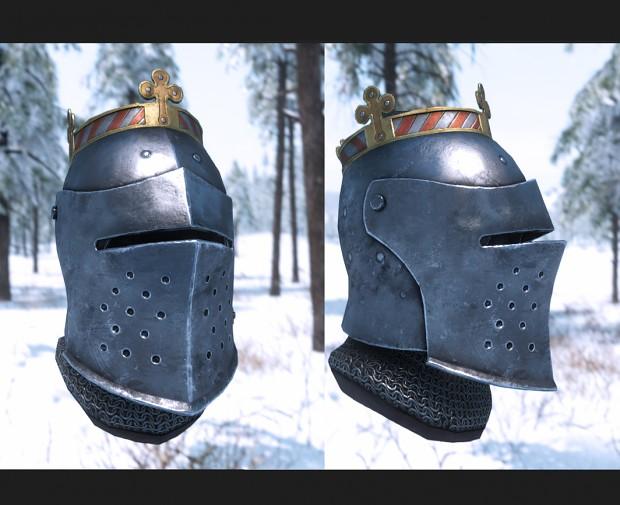 Vlandian Helm with visor