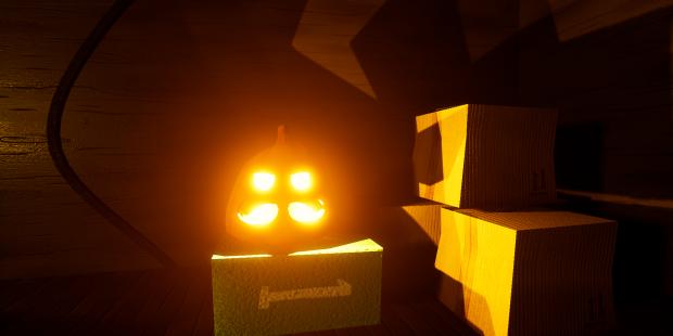 hello cube house helloween