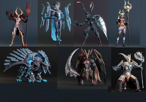 TERA 3d Models Mega Pack XNA Part 2