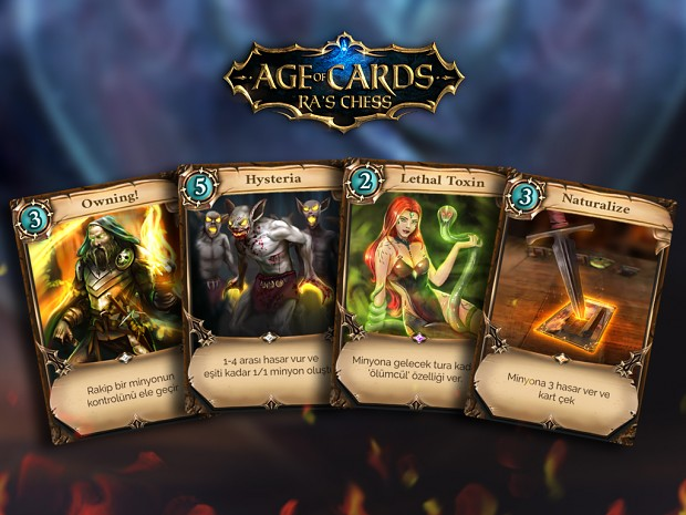 Age of Cards - Ra's Chess