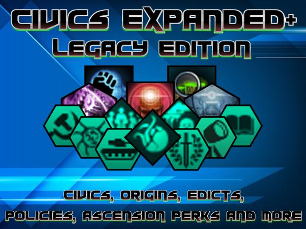 Civics Expanded+ (Legacy Version) 1.3.2.5