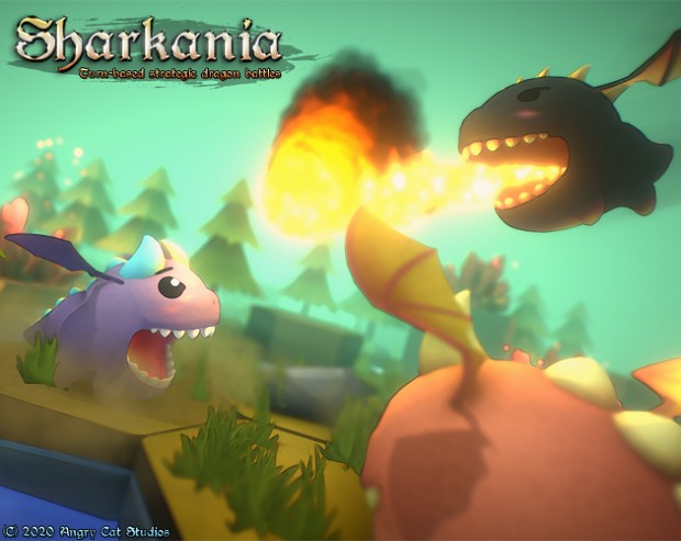 The demo of Sharkania has been updated with rules reference. (v1.0.1)