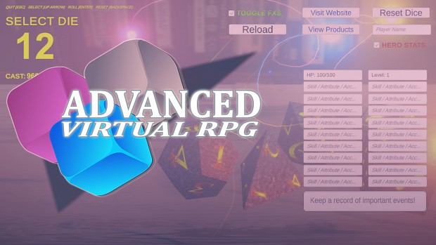 Advanced Virtual RPG - WIN