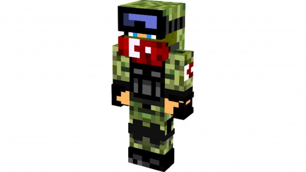 Minecraft Turkish Military Skin Pack