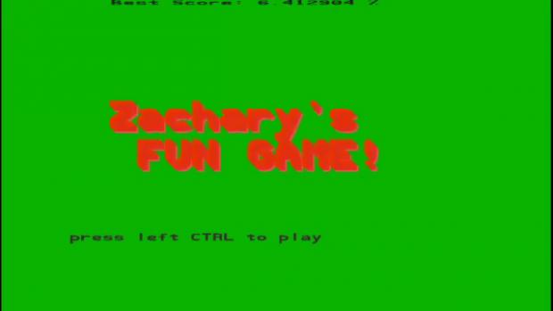 Zachary's Fun Game v1.0
