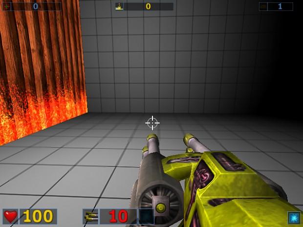 Yellow Laser Gun