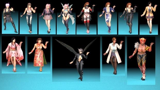 Dead Or Alive 5 Infinite 3d Models
