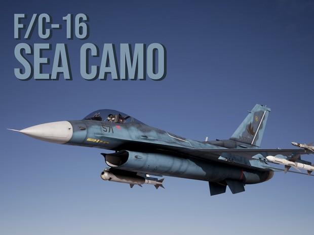 F/C-16 Sea Camouflage