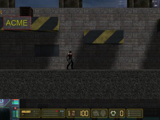 Duke Nukem 1 map