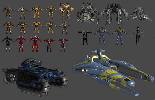 Tribes Vengeance 3d Models