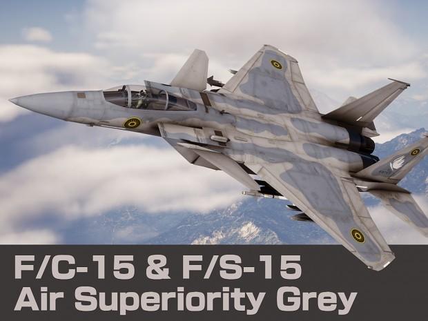F/C-15 & F/S-15 Air Superiority Grey