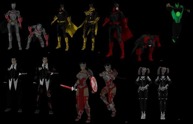 Injustice Gods Among Us 3d Models