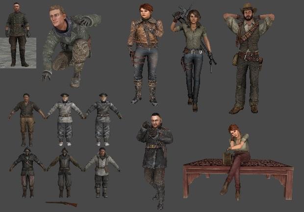 DeadFall Adventures 3d Models