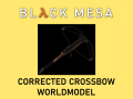 Black Mesa Corrected Crossbow Worldmodel