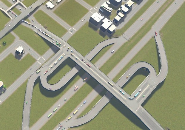 ATHSE Raised Double-U Interchange