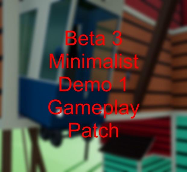 B3M Demo 1 Gameplay Patch