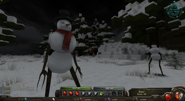 Lost Existence Snowman Mod