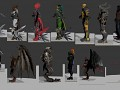 Killer Instinct 3D Models Part 1