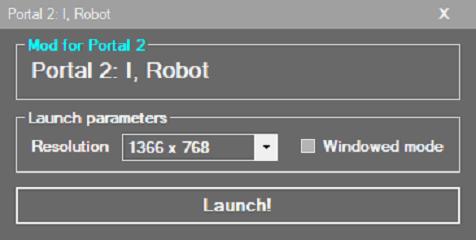 Source mod launcher v0.2