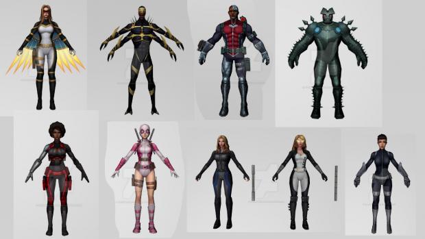 Marvel Future Fight 3D Models