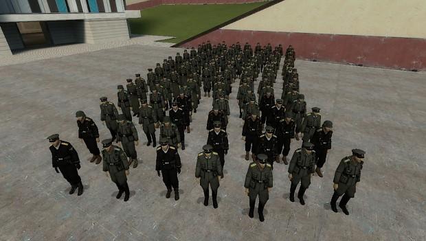 WW2 Waffen SS NPCs (GMOD 13)