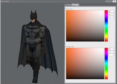 Arkham Origins Batman Playermodel