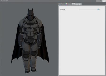 Arkham Origins Batman XE Suit Playermodel